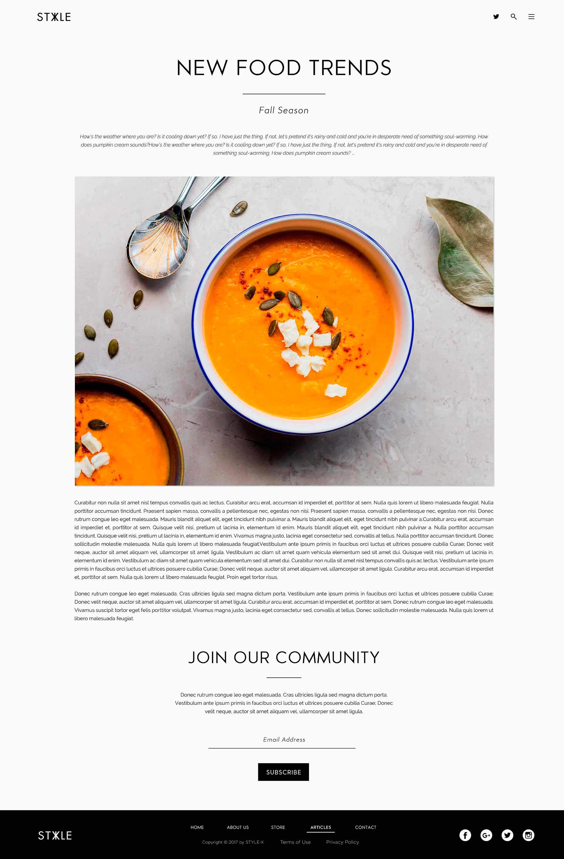 Web design Page layout